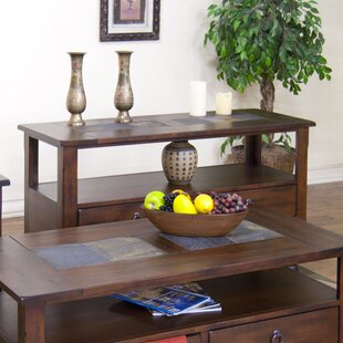 Loon Peak Fresno Console Table with Lower Drawer