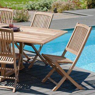 Cheap Price Woehler Folding Garden Chair (Set Of 2)