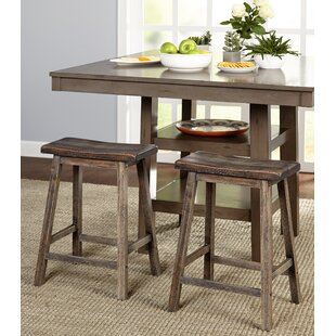 Affordable Wooden 24 Bar Stool (Set of 2) by Gracie Oaks Reviews (2019) & Buyer's Guide