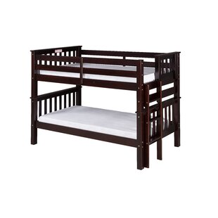 Lindy Mission Twin over Twin Bunk Bed by Harriet Bee