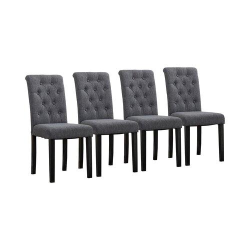 Polsterstuhl Tharpe ClassicLiving Polsterfarbe: Grau | Küche und Esszimmer > Stühle und Hocker > Polsterstühle | ClassicLiving