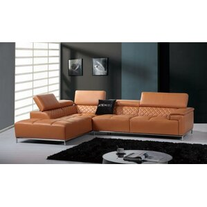 Cana Leather Reclining Sec..