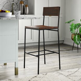 Compare prices Xenia 30 Bar Stool by Mercury Row Reviews (2019) & Buyer's Guide