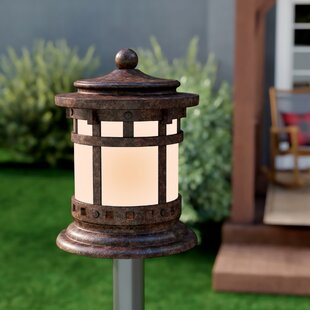 Esplanade Outdoor Deck Lantern 1-Light Pier Mount Light by Millwood Pines