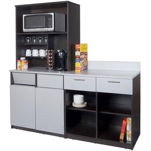 3 Piece Coffee Break 72 x 72 Pantry Cabinet by Breaktime
