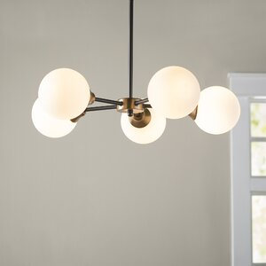 Bautista 5-Light Sputnik Chandelier