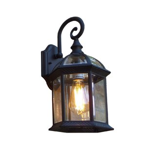 Prado LED Outdoor Wall Lantern by Charlton Home Read Reviews