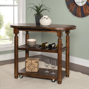 Bostick Kitchen Cart Canora Grey