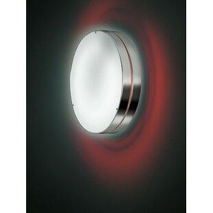ZANEEN design Tamburo 2-Light Outdoor Flush Mount