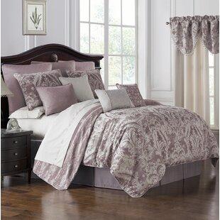 Victoria 4 Piece Reversible Comforter Set