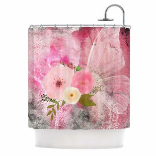 'My Butterfly' Single Shower Curtain