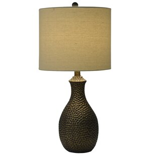Abastos Hammered 23 5 Table Lamp