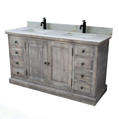 2 sink bathroom vanity. Carlton 2 Sink Bathroom Vanity Set