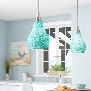 Read Reviews Ukee 1-Light Cone Pendant By Beachcrest Home
