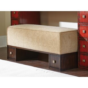 Stage Right Upholstered Bench by Fine Furniture Design