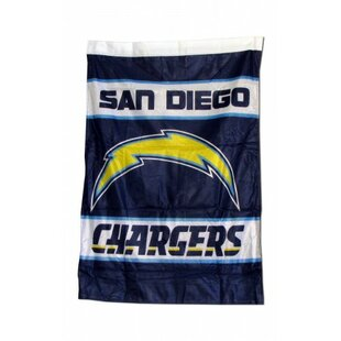 NFL San 2-Sided Polyester 3'4 x 2'4ft. House Flag By NeoPlex