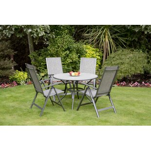 Aileigh 4 Seater Dining Set By Sol 72 Outdoor