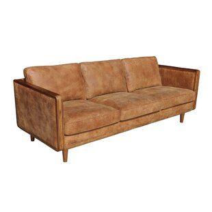 Reviews Lang Leather Sofa by Union Rustic Reviews (2019) & Buyer's Guide