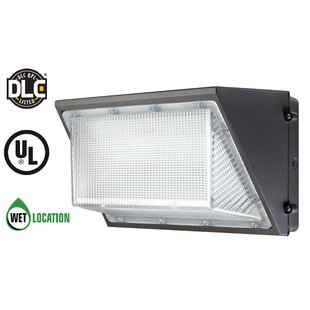 TriGlow 135-Watt LED Outdoor Security Wal..