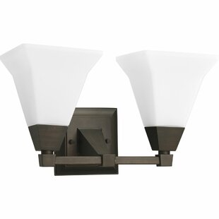 Latitude Run Diem Traditional 2-Light Vanity Light