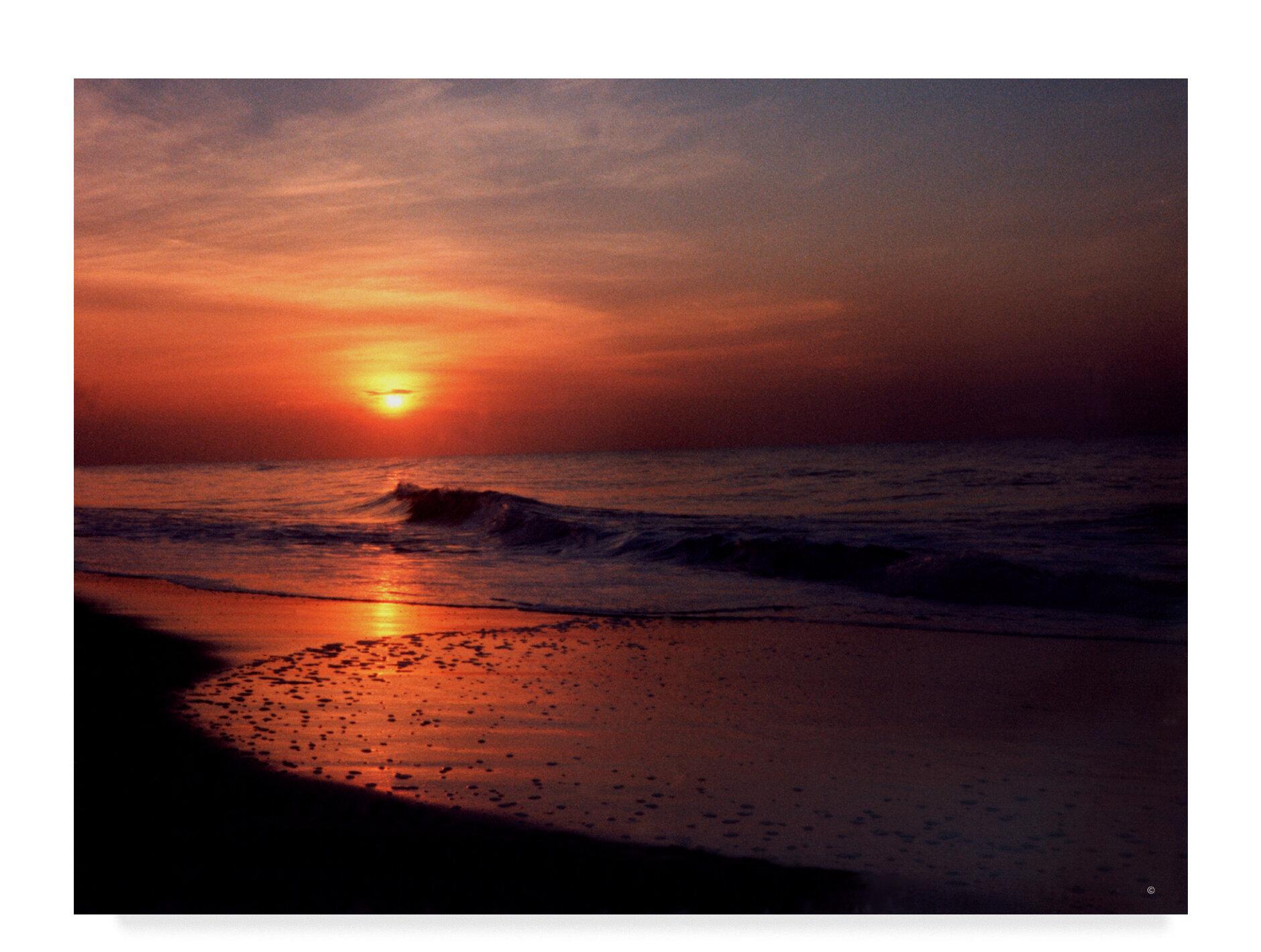 Breakwater Bay Myrtle Beach Sc Sunrise Photographic Print On Wred Canvas Wayfair
