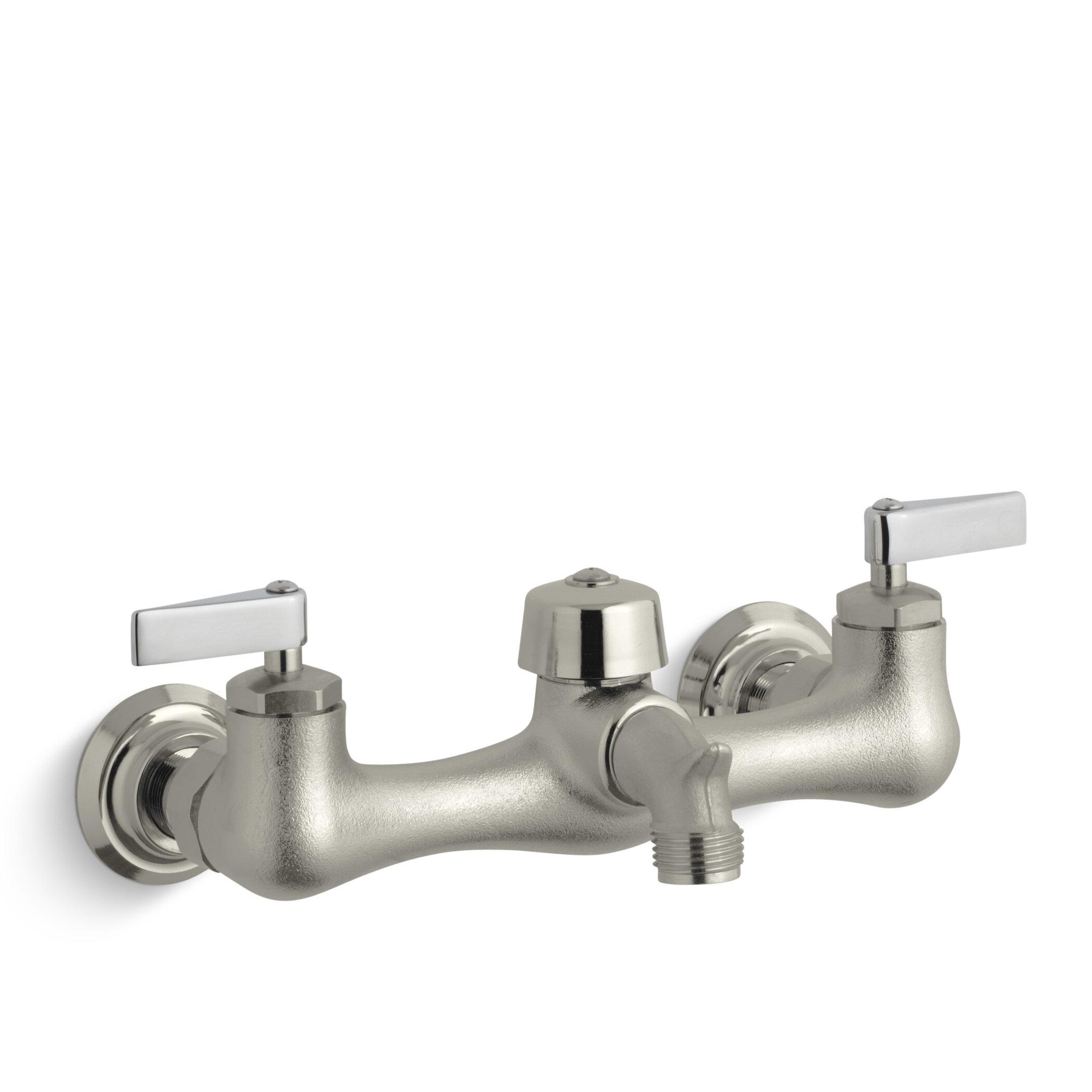 K-8905-CP,RP Kohler Knoxford Double Lever Handle Service Sink Faucet ...