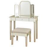 Hollywood Glamour Bedroom Vanity with Mirror by StyleCraft Home