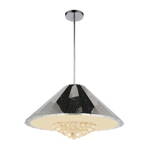 12-Light Cone Pendant by CWI Lighting