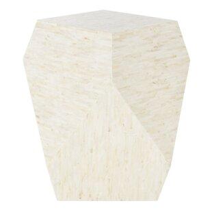 Mahn Mosaic Geometric End Table