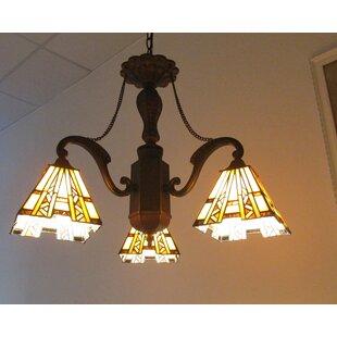 Charlotte Progressive 3-Light Chandelier by Astoria Grand