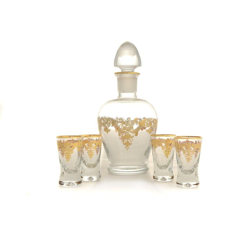 Classictouch Vivid Liquor Bottle Vase Wayfair