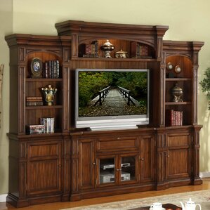 Denissa Wood Entertainment Center by Darby H..