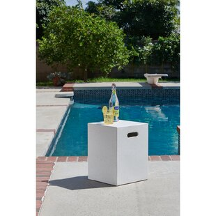 Richert Outdoor/Indoor Concrete Side Table