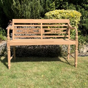 Hayle Batavia Teak Bench By Sol 72 Outdoor