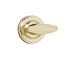 Single Dummy Door Lever with Traditional Rose by BRASS Accents
