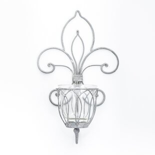 Wall Lantern in Clear by Home Etc