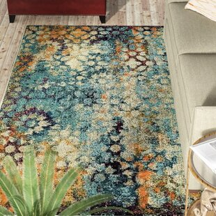 Newton Blue Area Rug by World Menagerie