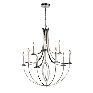 Danny 9-Light Candle-Style Chandelier