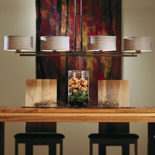 Hubbardton Forge Trestle 4-Light Kitchen Island Pendant