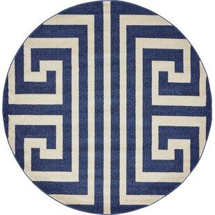 Ellery Blue Area Rug by Willa Arlo Interiors