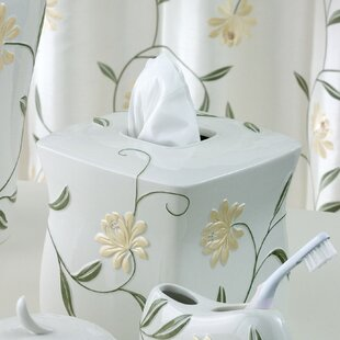 Penelope Tissue Box Cover By Croscill Home Fashions
