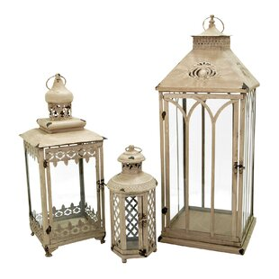 One Allium Way 3 Piece Nesting Lantern Set