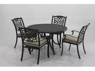 Darby Home Co Hanson 5 Piece Dining Set