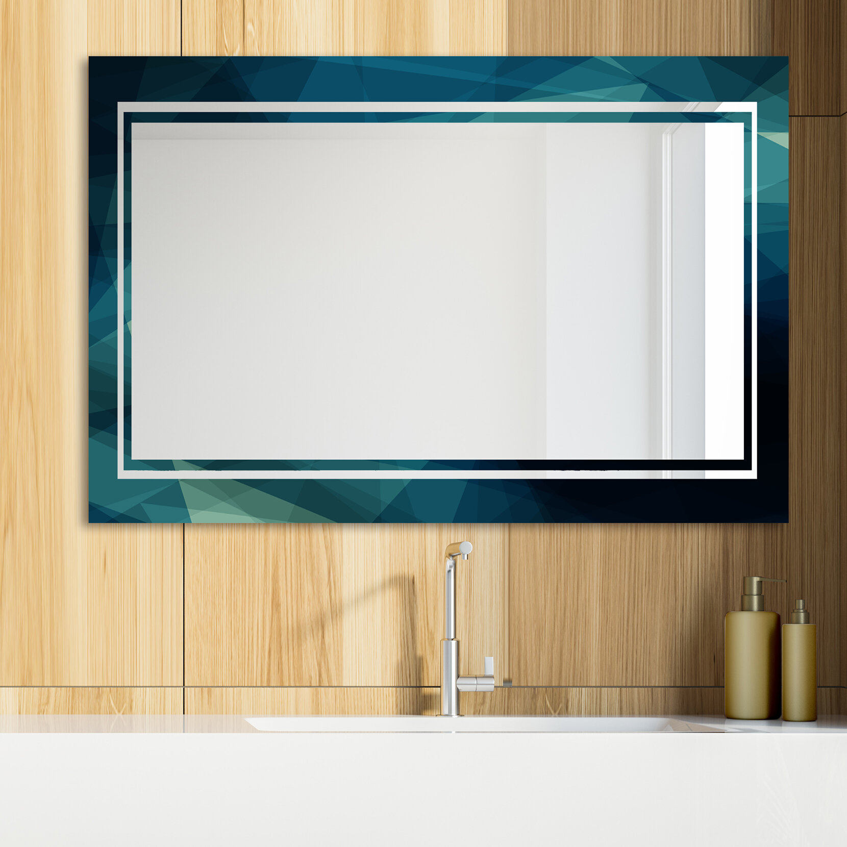 East Urban Home Glam Vanity Mirror Wayfair