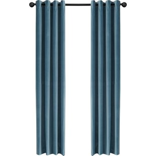 Light Blue Velvet Curtains