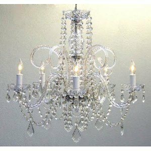 Affordable Kanagy Swarovski 5-Light Candle Style Chandelier By House of Hampton
