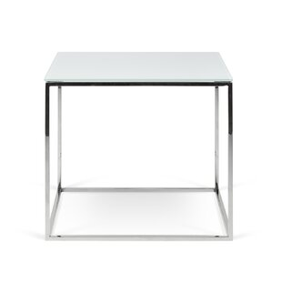 Soltane Glass End Table