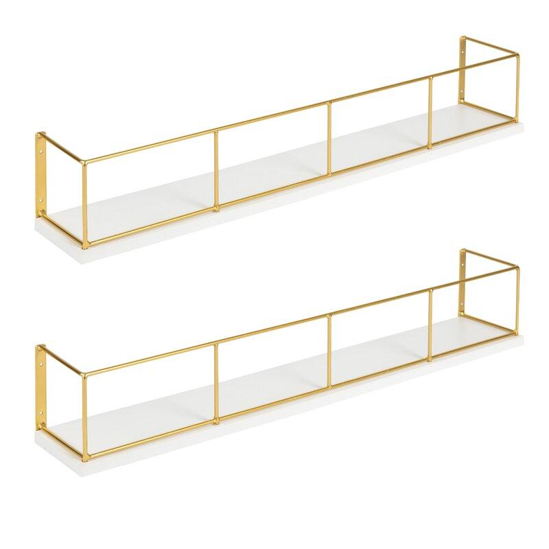 Premont 2 Piece Floating Shelf Set