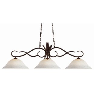 Beehler 3-Light Kitchen Island Pendant by Fleur De Lis Living