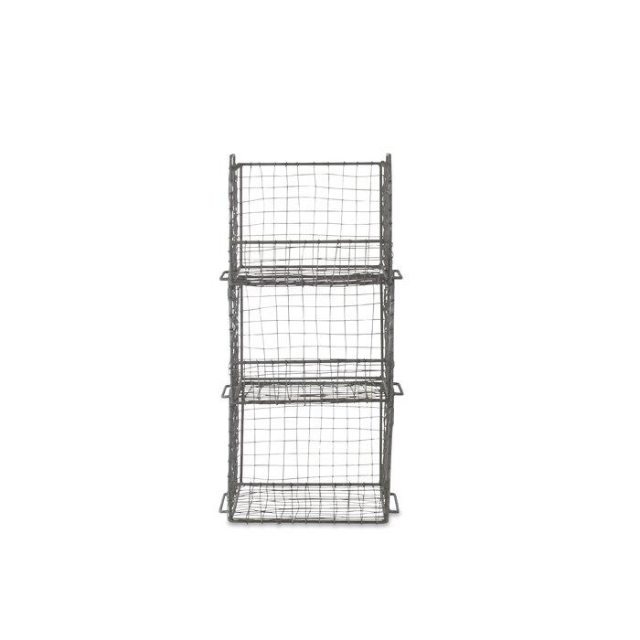 Nkuku Locker Room Stacking 64cm 3 Shelf